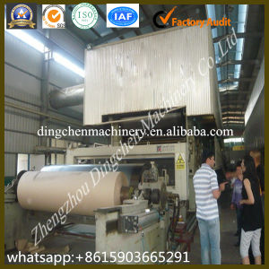 Low Cost 1575mm Kraft Paper Liner Paper Cylinder Mold Machine in Paper Industry pictures & photos