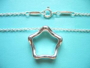 925 Sterling Silver Brand Necklace (TNX010)