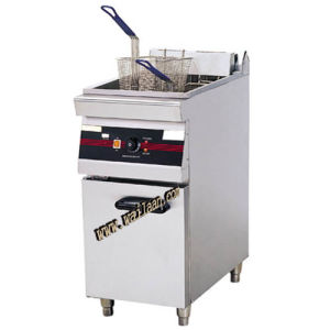 1-Tank 2-Basket Electric Fryer with Cabinet (1/2WFR3-8)