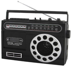 Professional Multi-Bands Portable Radio Cassette Recorder Player (PS-93)