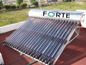 Compact High Pressure Heatpipe Solar Water Heater pictures & photos