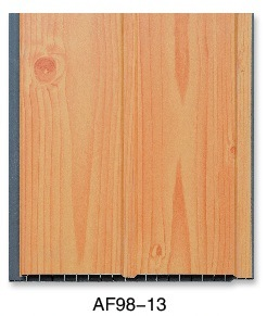 Grooved Laminated PVC Panel (AF98-13) pictures & photos