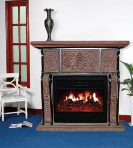 Electric Fireplace/Electric Fireplace Stove (008) pictures & photos