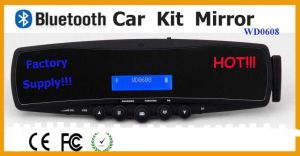 Bluetooth Car Kit Rear View Mirror (WD0608)