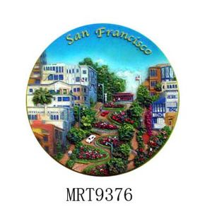 Decorative Tourist Plate (MRT9376)