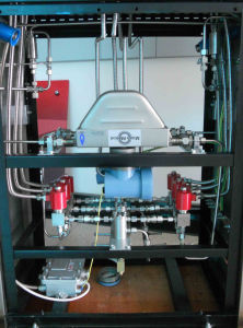 Double Nozzle CNG Dispenser with Coriolis Mass Flow Meter pictures & photos