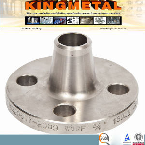 Welding Neck Raise Face Forged Flange of Dn10 Class 300 ASTM A182 F51. pictures & photos