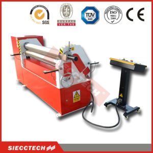 Three Roller Mechanical Type Metal Sheet Bending and Rolling Machine W11f-8X2000 pictures & photos