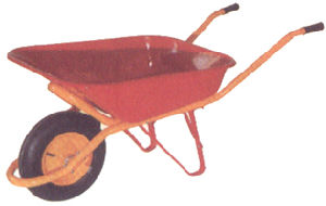 Red Tray with Orange Handle for Wheel Barrow (WB6408) pictures & photos