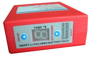 Li-Polymer Battery For Heating Elements With Controller, LED, 5200mah pictures & photos