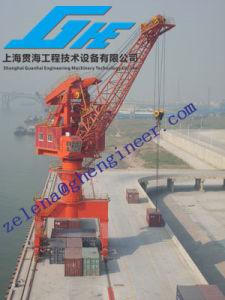 Single Boom Lattice Structure Port Crane pictures & photos
