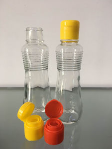 125ml Glass Seasoning Bottle with Plastic Lid (SP125-LHL002) pictures & photos