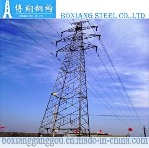 110kv Double Circuit Angular Dead-End Transmission Tower