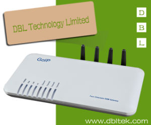 4 SIM Card Ports GSM VoIP Gateway (GOIP_4) pictures & photos