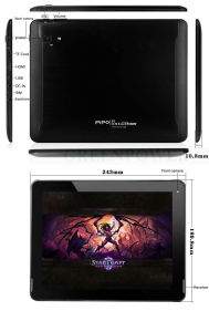 New 2014 Item! 9.7 Inch Retina Screen Pipo P1 3G Tablet Rk3288 Quad Core 1.6GHz with HDMI/OTG/GPS/3G/Bt/WiFi/Android 4.4