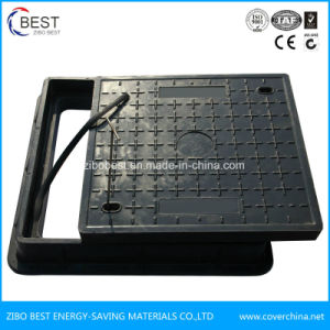 C250 Square FRP SMC Resin Manhole Cover with Handle pictures & photos