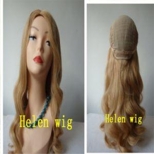 Silk Top Jewish Wig Kosher Wigs (006)