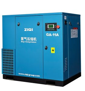 High Quality Screw Air Compressor in Shanghai (GA-18.5A) pictures & photos