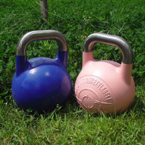 Natural Surface Prograde Competition Kettlebell pictures & photos