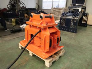 Construction Excavator Hydraulic Vibrating Plate Compactor pictures & photos