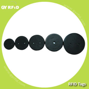 LAN Em4100/ Em4102 Passive RFID Laundry Tag for Textile Tracking System (GYRFID) pictures & photos