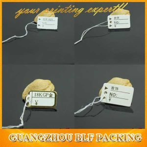 Custom Paper Jewelry Wholesale Pricing Tags pictures & photos