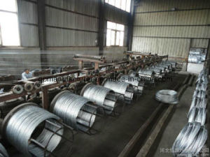 Cable Used Hot Dipped Galvanized Steel Wire Strand 7 Wires pictures & photos