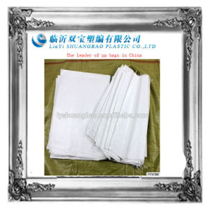 50kg White Color PP Woven Bag pictures & photos