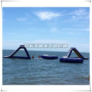 2016 Summer Hot Giant Inflatable Water Slide Aqua Park Toys
