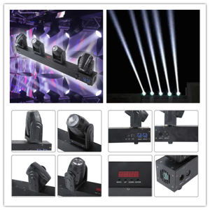 More Effect 4X Mini 10W LED Beam Moving Head Bar Lighting pictures & photos