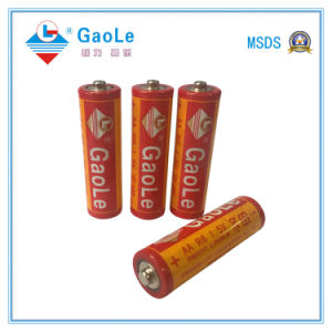 Extra Heavy Duty AA 1.5V R6p Battery (UM-3) pictures & photos