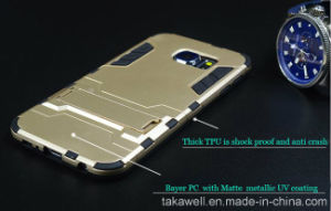 China Wholesale High Quality OEM Iron Man Armor Case for Samsung Galaxy S6/S6 Edge/S7/S7 Edge Mobile Phone Cover Case pictures & photos