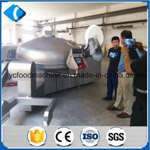 Vacuum Meat Bowl Cutter High Speed Cutter pictures & photos