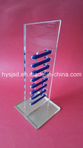 Hot Popular Plexiglass Display No Tie Elastic Flat U Shoe Lace pictures & photos