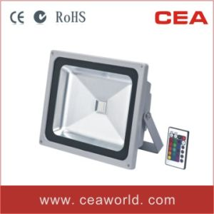 30W RGB LED Flood Light with Remote Control (LFL5-30W) pictures & photos