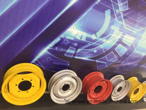 High Quality Wheel Rims for Tractor/Harvest/Machineshop Truck/Irrigation System-12 pictures & photos