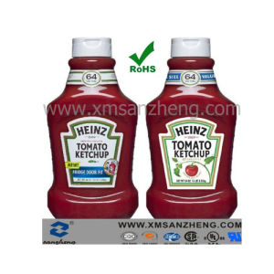 Decorative Jar Sticker for Tomato Ketchup (SZXY174) pictures & photos