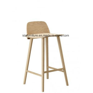 Modern Bar Furniture Solid Wood Nerd Bar Chair pictures & photos