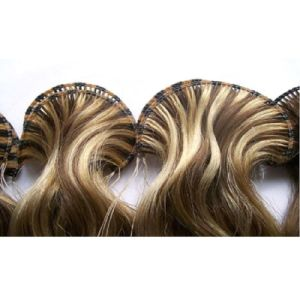 European Virgin Human Remy Hand Tied Human Hair Extension