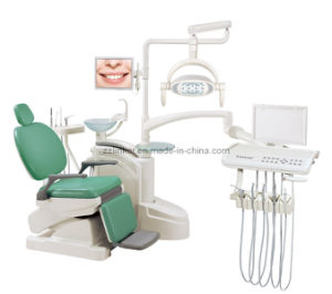 Suntem St-Anna Armrest Low Mounted Dental Unit pictures & photos