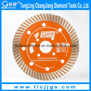 High Quality Wet Cutting Diamond Continuous Rim Saw Blade pictures & photos