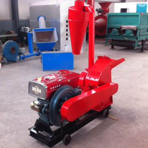 Mobile Wheels Rice Husk Crusher for Biofuel Purpose pictures & photos