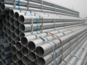 Welded Round Steel Pipe Bs, JIS, GB pictures & photos