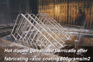 Hot Dipped Galvanized Steel Barricade pictures & photos