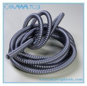 2015 New Grey Color PVC Reinforcement Hose