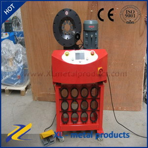 Uniflex Ce Certificate Hose Crimping Machine pictures & photos