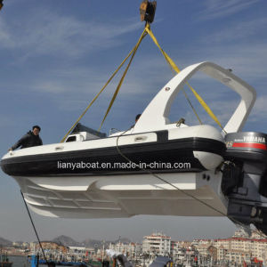 Liya 16men Luxury Rib Boats Hypalon Inflatable Boat in Yacht Made in China pictures & photos