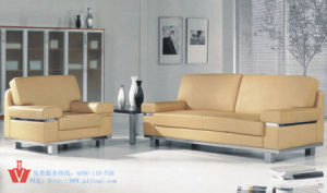The Latest Simple Modern Corner Imported Leather Sofa Set (WP5-3021)