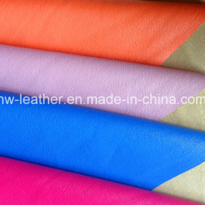 High Stretch PU Leather for Garments (HW-1758) pictures & photos
