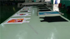 Fd-1628 Long Flatbed Tshirt Printer with Pigment Ink Solution pictures & photos